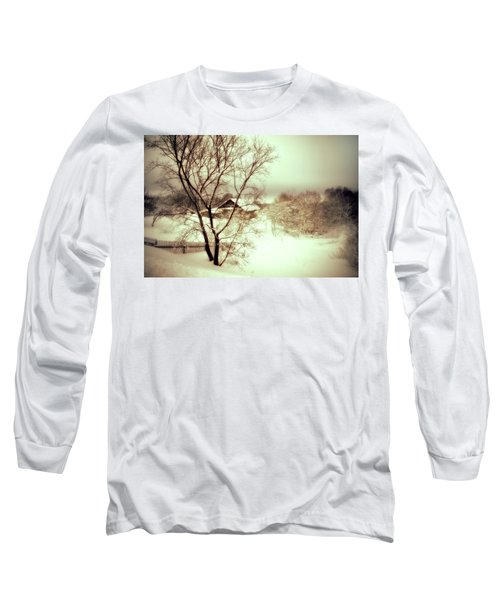 Winter Loneliness Long Sleeve T-Shirt
