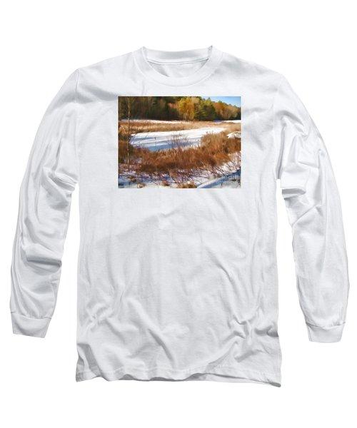Winter Marsh Long Sleeve T-Shirt