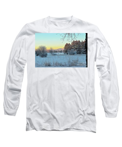 Winter On The Tree Farm Long Sleeve T-Shirt