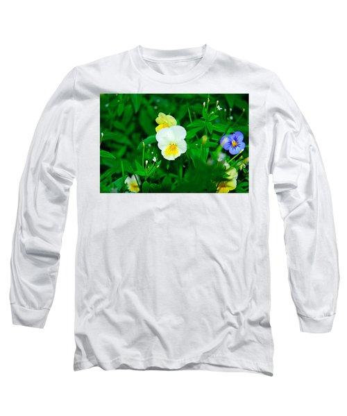 Winter Park Violets 1 Long Sleeve T-Shirt