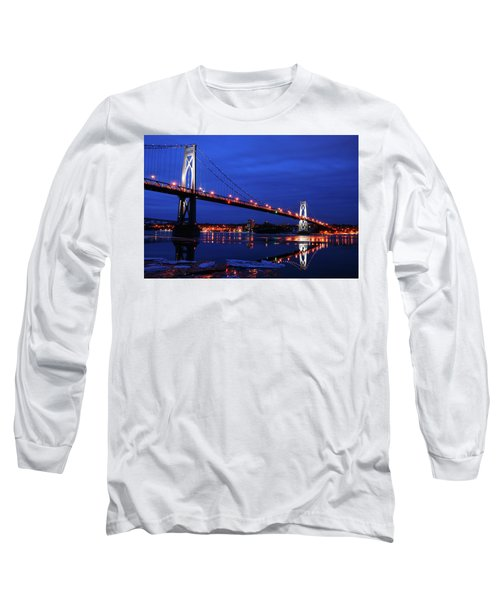 Winter Refelctions Long Sleeve T-Shirt by James Kirkikis