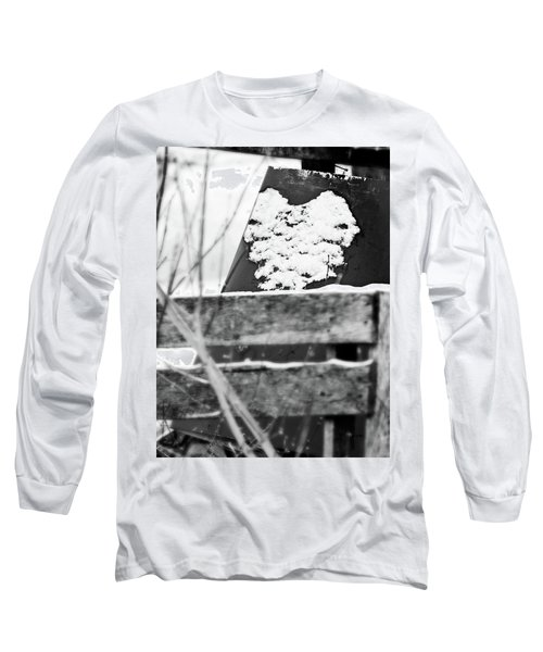 Winter Snow Heart Long Sleeve T-Shirt