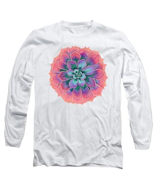 Winter Succulent Long Sleeve T-Shirt