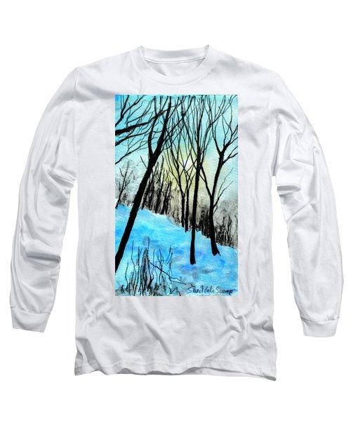 Winter Sunlight Long Sleeve T-Shirt