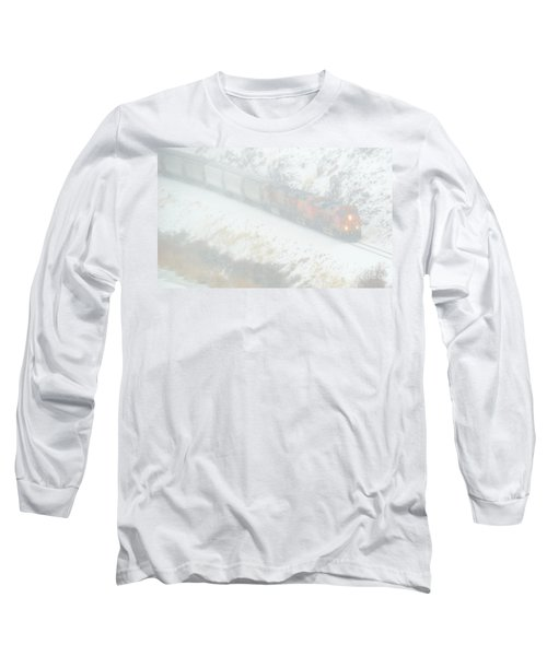 Winter Train Long Sleeve T-Shirt