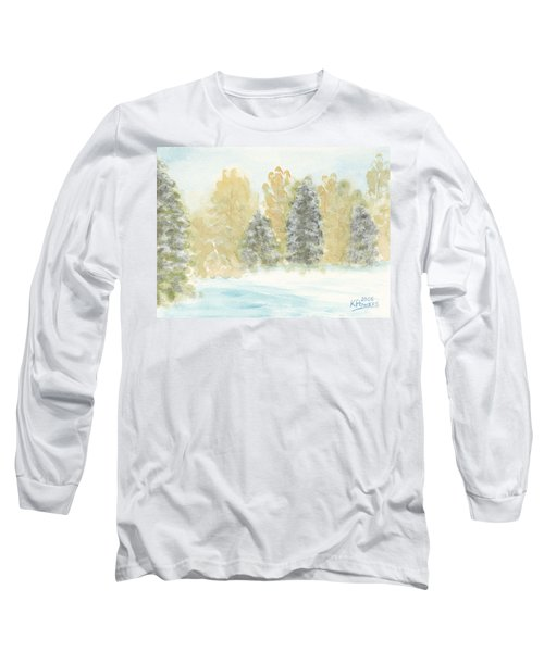 Winter Trees Long Sleeve T-Shirt
