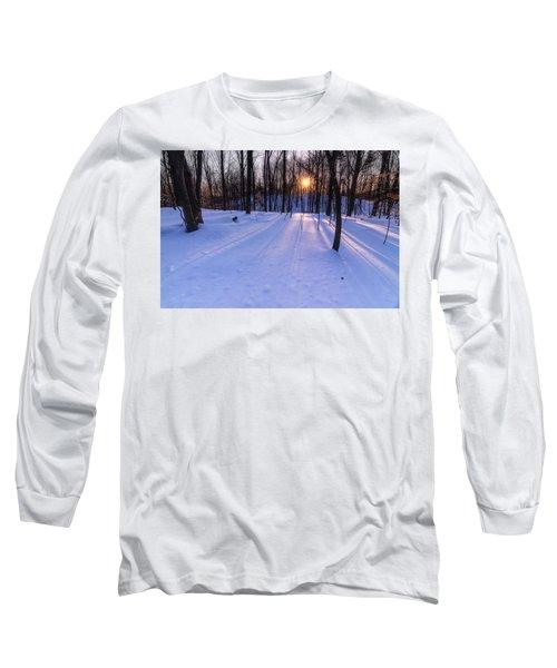 Winter Walks Continue Long Sleeve T-Shirt