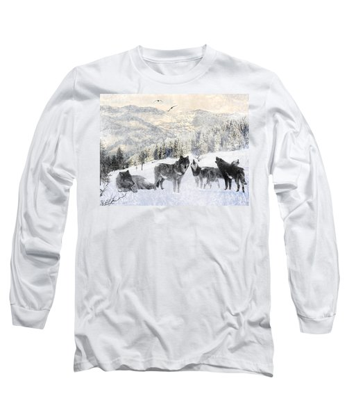 Winter Wolves Long Sleeve T-Shirt