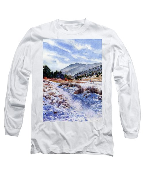 Winter Wonderland Long Sleeve T-Shirt by Anne Gifford