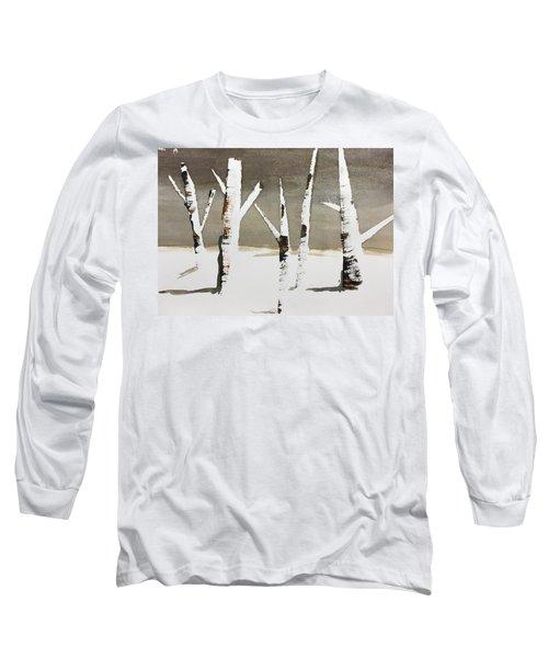 Winter Wood Long Sleeve T-Shirt