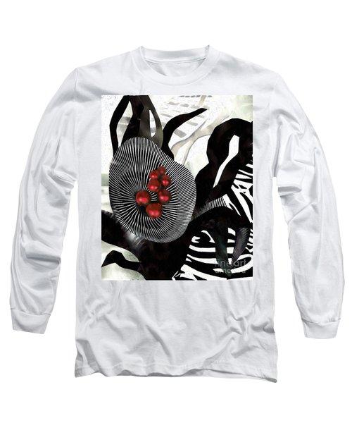 Winterberries Long Sleeve T-Shirt by Sarah Loft