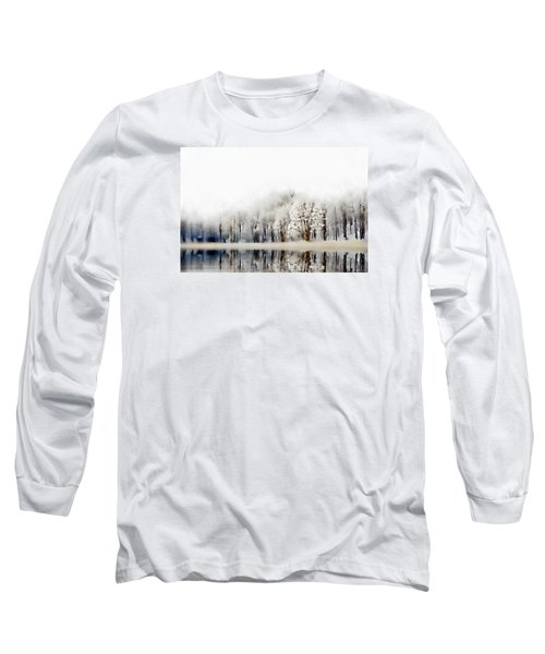 Winterscape  Long Sleeve T-Shirt by Andrea Kollo