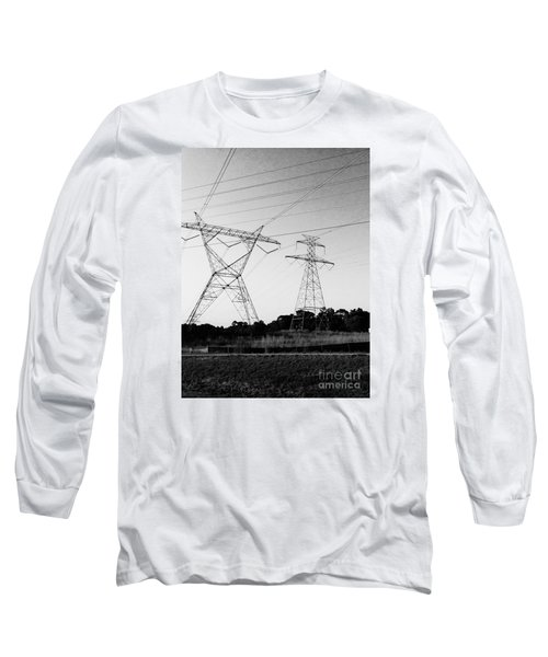 Wire Line Long Sleeve T-Shirt
