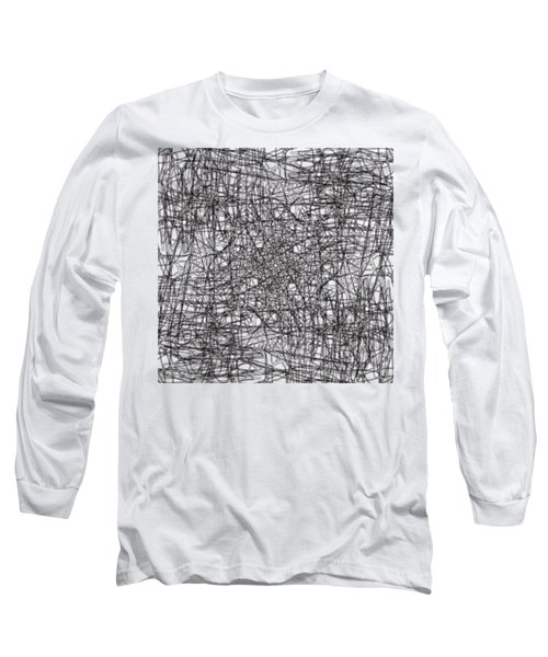 Wired Abstraction Long Sleeve T-Shirt