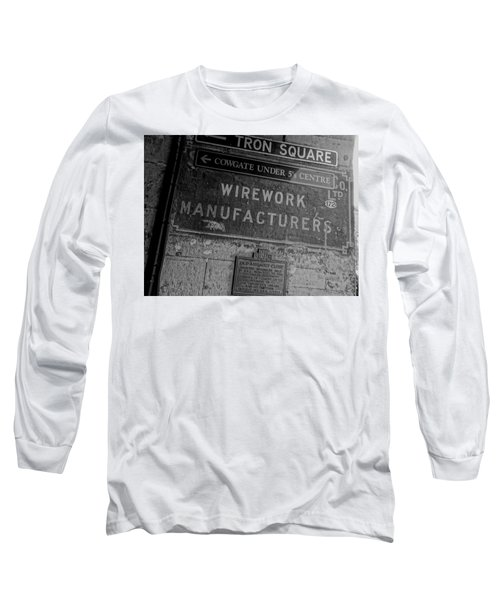 Wirework Long Sleeve T-Shirt by Eduardo Abella