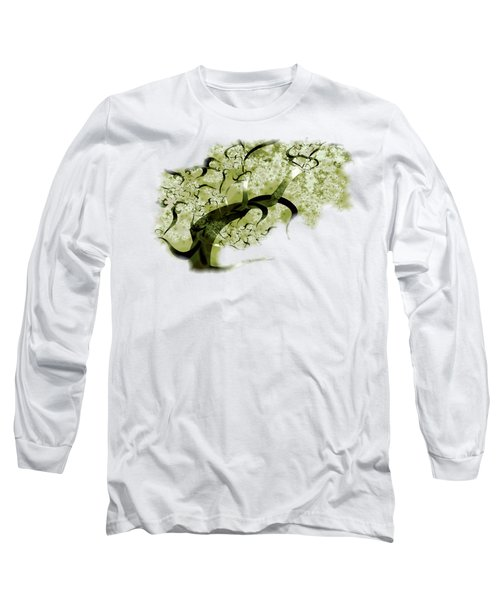Wishing Tree Long Sleeve T-Shirt by Anastasiya Malakhova