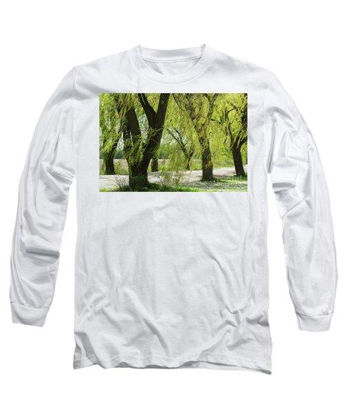 Wispy Willows-1 Long Sleeve T-Shirt