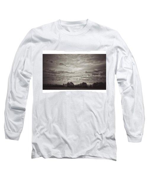 Wolken über Mir  #wolken #cloudscape Long Sleeve T-Shirt