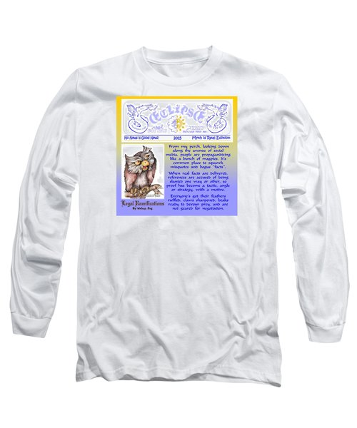 Real Fake News Legal Column 4 Long Sleeve T-Shirt