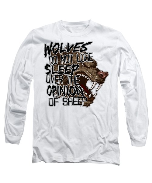 Wolves And Sheep Long Sleeve T-Shirt