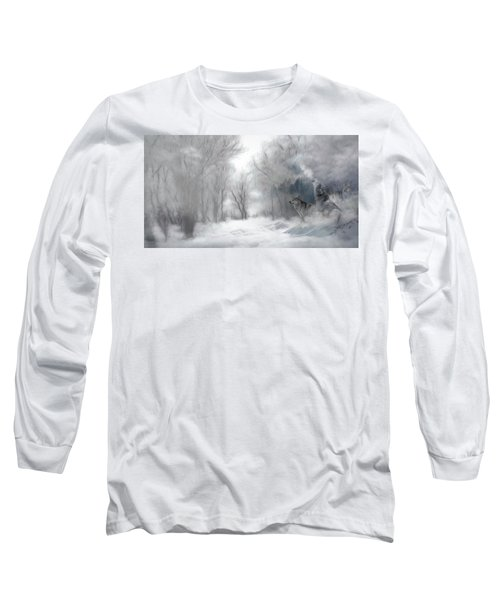 Wolves In The Mist Long Sleeve T-Shirt