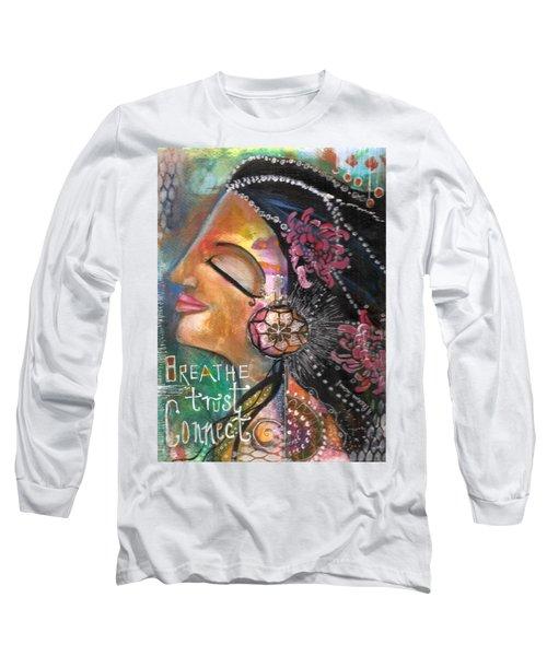 Woman Art Long Sleeve T-Shirt