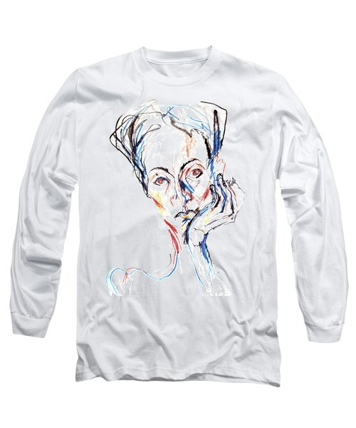 Woman Expression Long Sleeve T-Shirt