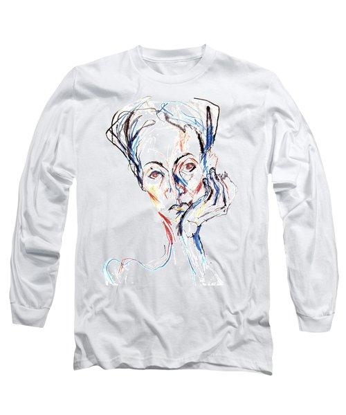 Woman Expression Long Sleeve T-Shirt