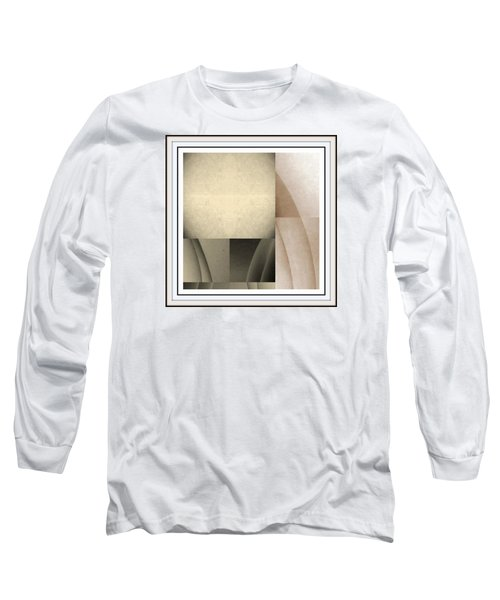 Woman Image Fivve Long Sleeve T-Shirt by Jack Dillhunt