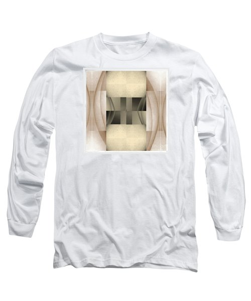 Woman Image Seven Long Sleeve T-Shirt by Jack Dillhunt