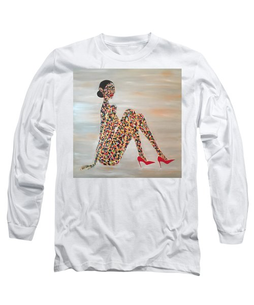 Woman Of Color Long Sleeve T-Shirt