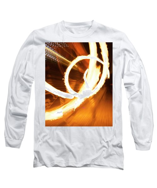 Woman On Fire Long Sleeve T-Shirt