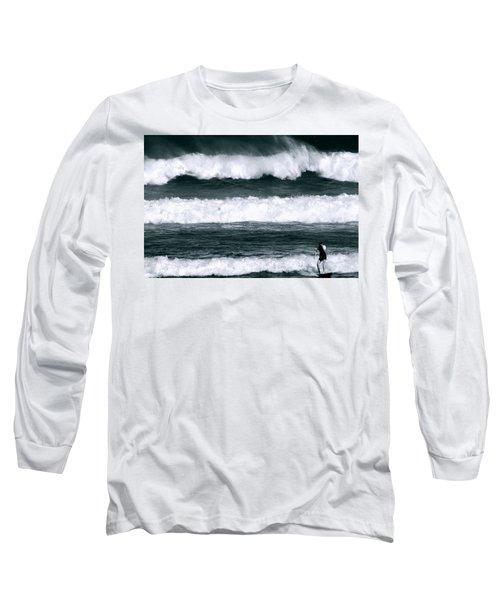Woman Surfer Long Sleeve T-Shirt