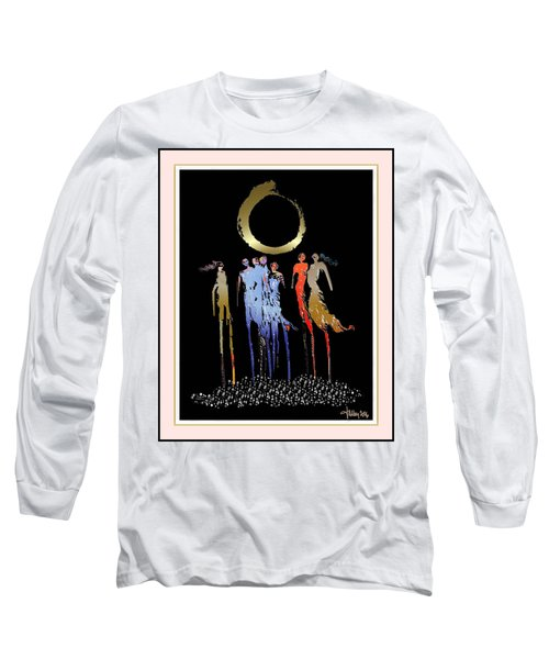 Women Chanting - Enso  Long Sleeve T-Shirt