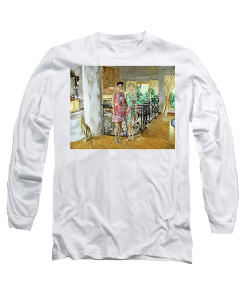 Women In Sunroom Long Sleeve T-Shirt