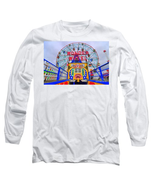 Wonder Wheel Long Sleeve T-Shirt