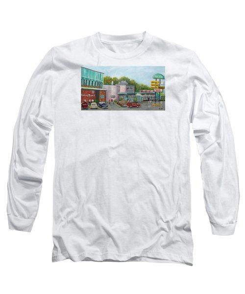 Wonderful Memories Of The Wal-lex Long Sleeve T-Shirt by Rita Brown