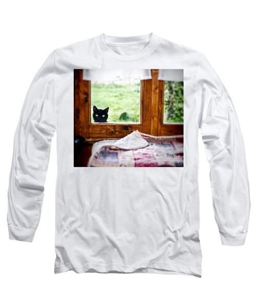 Wondering What's She... Better Investigate Long Sleeve T-Shirt