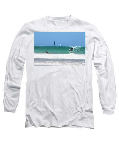 Long Sleeve T-Shirt featuring the photograph Wonderwall by Terri Waters