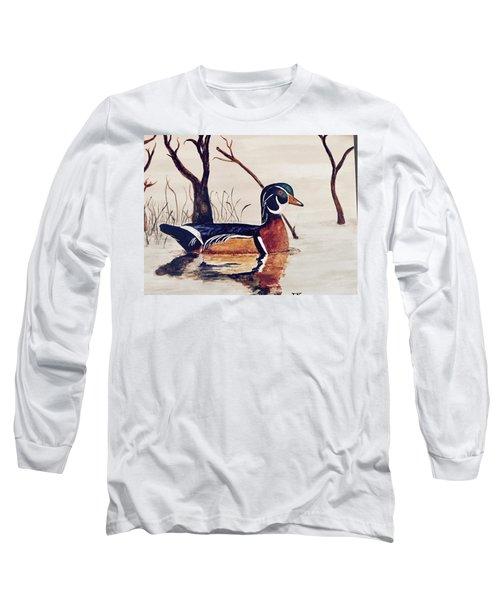 Wood Duck No. 2 Long Sleeve T-Shirt