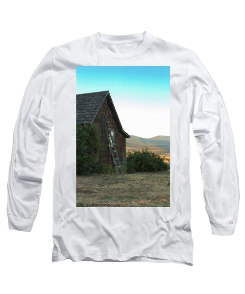 Wood House Long Sleeve T-Shirt