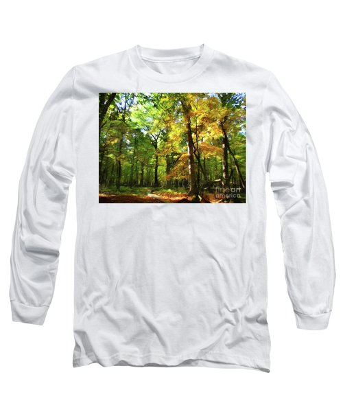 Wood Plank Trail Long Sleeve T-Shirt