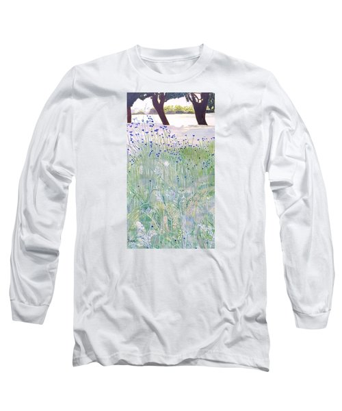 Woodford Park In Woodley Long Sleeve T-Shirt by Joanne Perkins