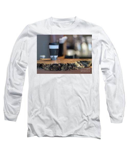 Long Sleeve T-Shirt featuring the photograph Woods Coffee by Jim  Hatch