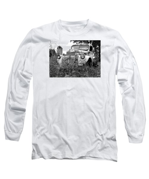 Long Sleeve T-Shirt featuring the photograph Working Days Are Done by Janice Adomeit