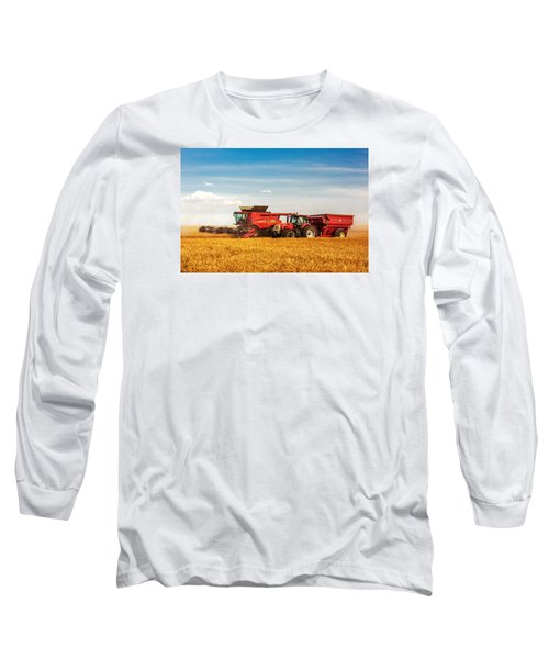 Working Side-by-side Long Sleeve T-Shirt