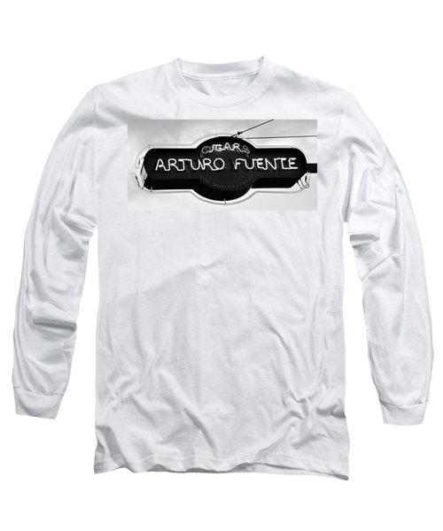 Worlds Finest Cigar Long Sleeve T-Shirt