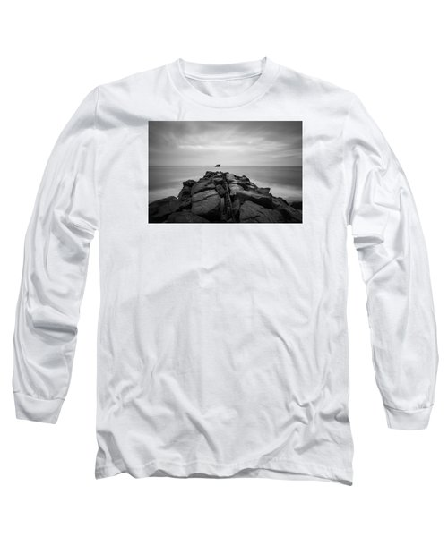 Wreck Of The Ss Atlansus Of Cape May Nj Long Sleeve T-Shirt