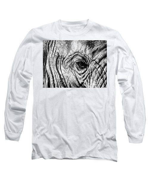 Wrinkled Eye Long Sleeve T-Shirt