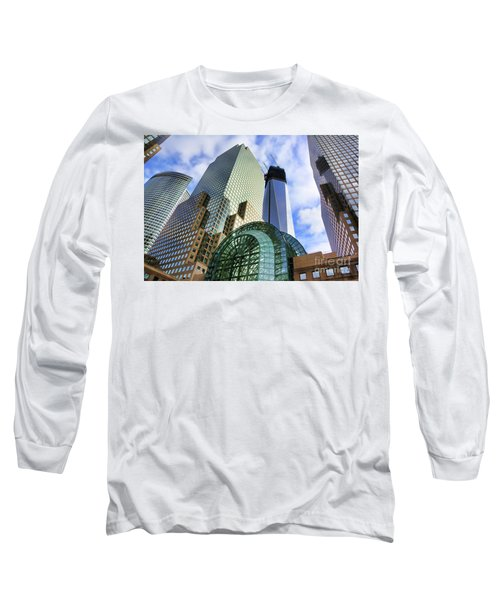 Wtc Nyc Construction I Long Sleeve T-Shirt